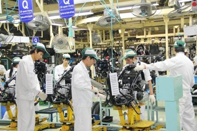 Nửa đầu năm 2016, toàn ngành công nghiệp chế biến, chế tạo tồn kho 70%