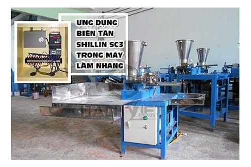 Biến tần Shihlin SC3 chuyên dùng cho máy làm nhang tự động