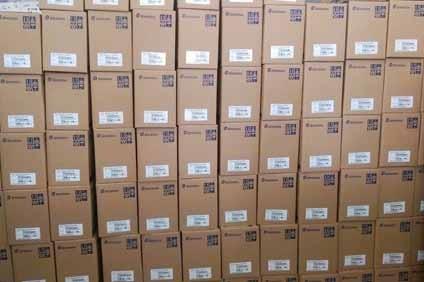 Biến tần Shihlin nhập khẩu về kho