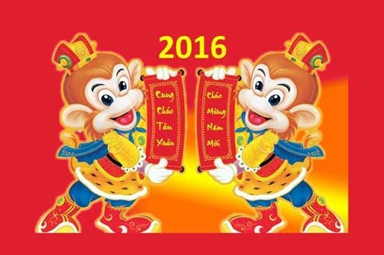 Thông báo lịch nghỉ tết âm lịch Bính Thân 2016
