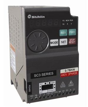 Biến tần Shihlin SC3 3 pha 220VAC